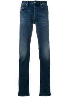 Stone Island straight leg jeans - Blue