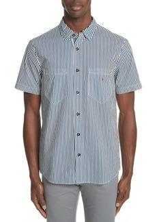 Stone Island Stripe Woven Shirt