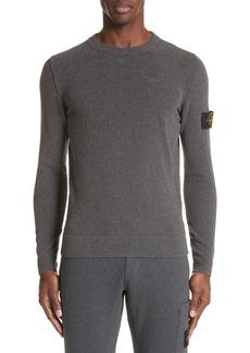 Stone Island Terry Knit Crewneck Sweatshirt