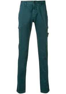Stone Island washed cargo trousers - Green
