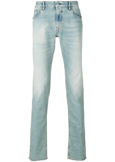 Stone Island washed effect jeans - Blue