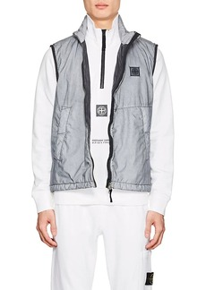 Stone Island XO Barneys New York Men's Coated Cotton Vest