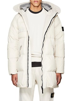 Stone Island XO Barneys New York Men's Down-Quilted Crinkled Tech-Fabric Parka