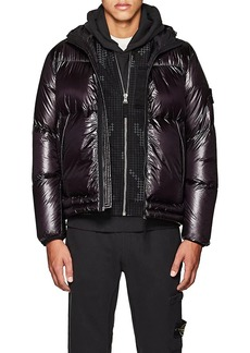 Stone Island XO Barneys New York Men's Down-Quilted Tech-Fabric Puffer Coat