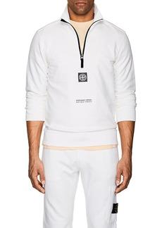 Stone Island XO Barneys New York Men's Logo Cotton Half-Zip Sweatshirt