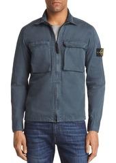 Stone Island Zip Shirt Jacket