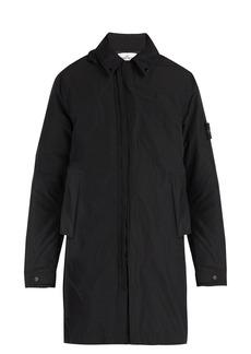 Stone Island Zip-through hooded coat