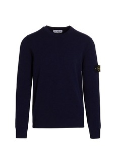 Stone Island Stretch Wool Crew Sweater