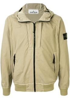 Stone Island Twill-TC hooded jacket