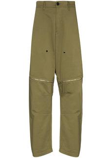 Stone Island vent-panel straight-leg trousers