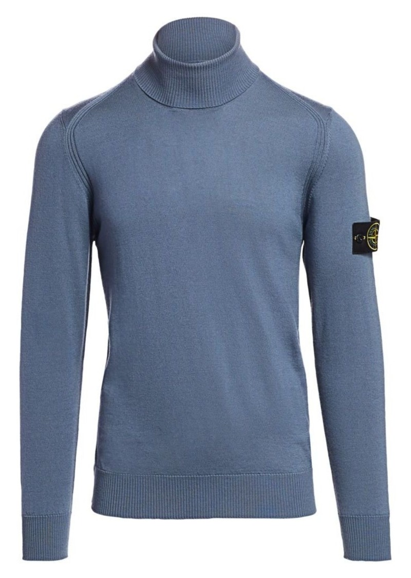 Stone Island Wool Turtleneck Sweater