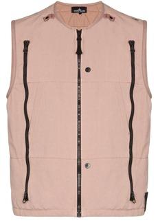 Stone Island zip-detailed vest