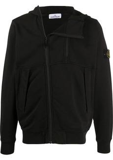 Stone Island zip-up logo jacket