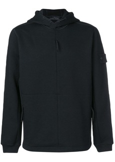Stone Island zipped hooded sweatshirt