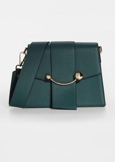 Strathberry Box Crescent Bag