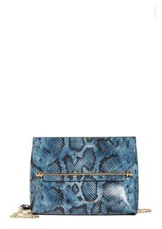 Strathberry East/West Stylist Snake Embossed Goatskin Leather Shoulder Bag (Nordstrom Exclusive)