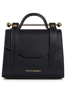 Strathberry Micro Allegro Calfskin Leather Tote