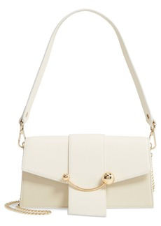 Strathberry Mini Crescent Bicolor Calfskin Leather Bag