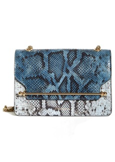 Strathberry The East/West Snake Embossed Goatskin Leather Crossbody Bag (Nordstrom Exclusive)