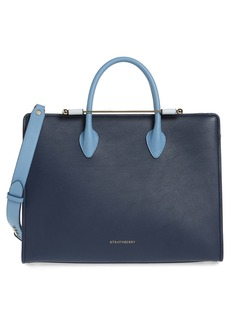 Strathberry Tricolor Leather Tote