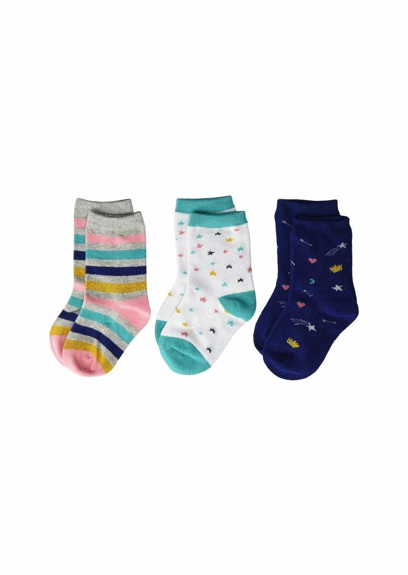 Stride Rite 3-Pack Lucky Lainey Crew Socks (Infant/Toddler/Little Kid/Big Kid)