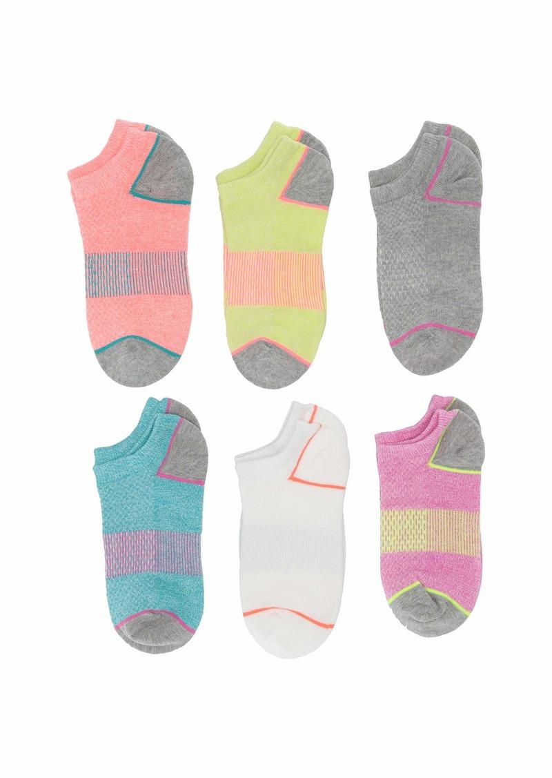 Stride Rite 6-Pack Alyssa Athletic No Show Socks (Infant/Toddler/Little Kid/Big Kid)