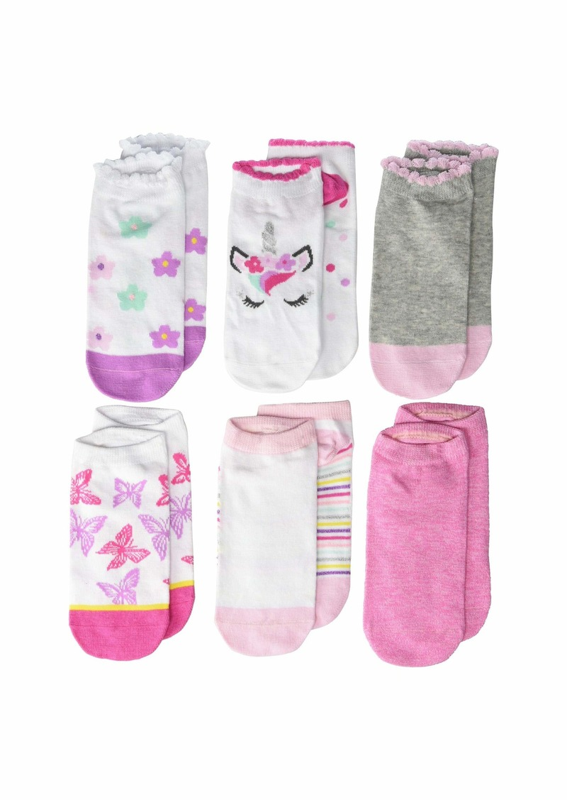 Stride Rite 6-Pack Aubrie Amazing Magic No Show (Toddler)