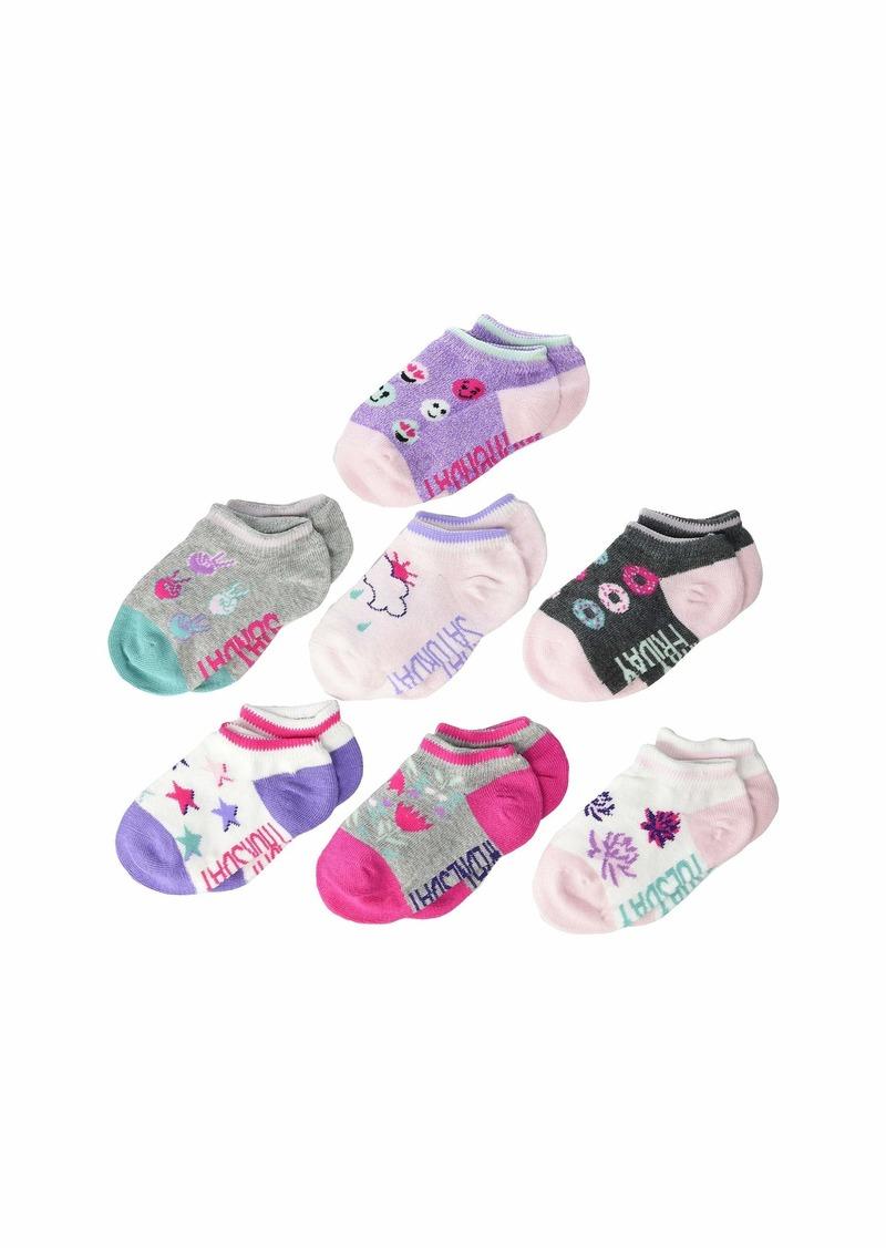 Stride Rite 7-Pack DeAnn Days of the Week No Show Socks (Infant/Toddler/Little Kid/Big Kid)