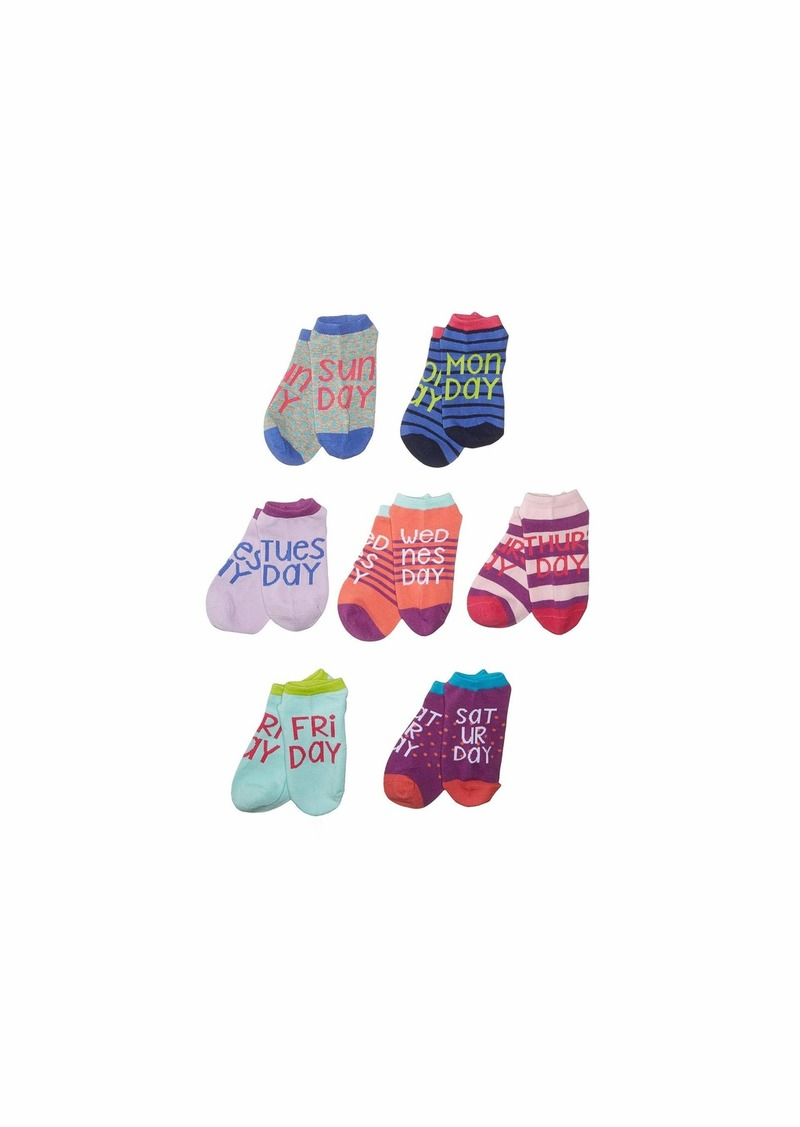 Stride Rite 7-Pack Promo Wendy Days of the Week No Show (Infant/Toddler/Little Kid/Big Kid)