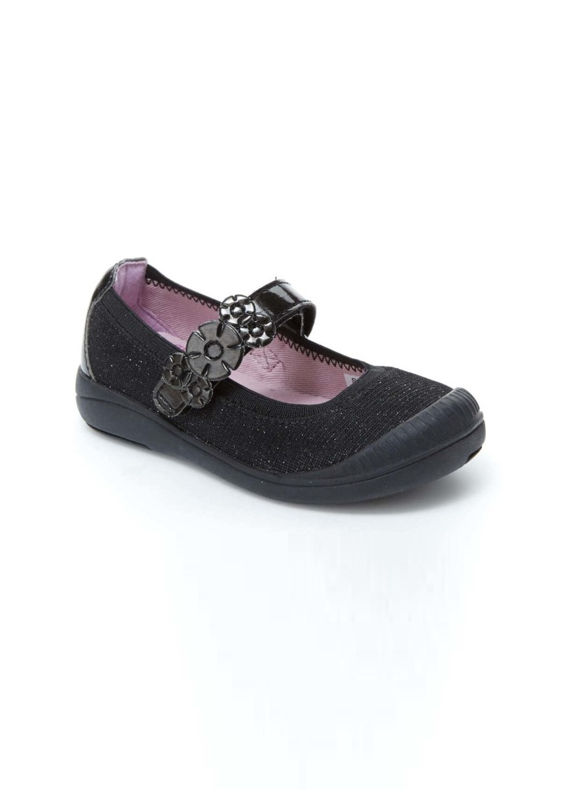 Stride Rite Layla Mary Jane Flat (Baby, Toddler & Little Kid)