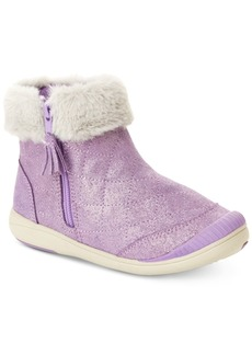 Stride Rite Toddler & Little Girls Chloe Faux-Fur Trimmed Boots