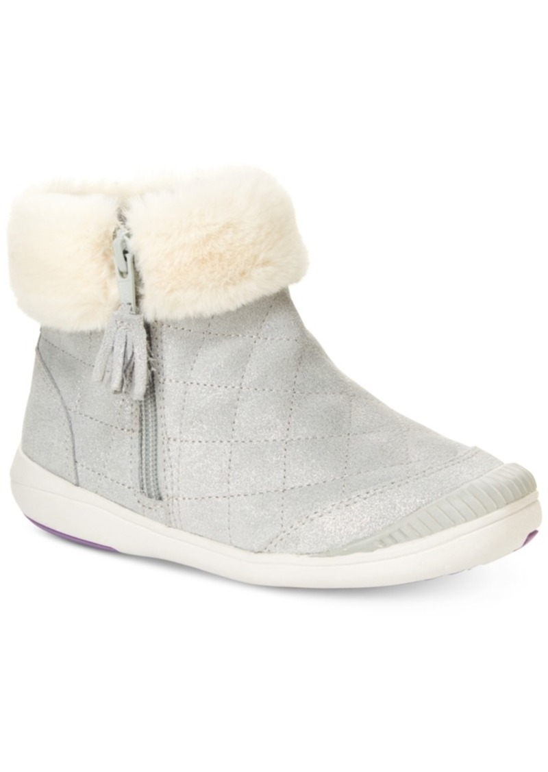 Stride Rite Toddler Girls Faux-Fur Trimmed Boots