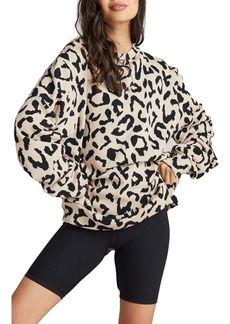 Strut This Mason Animal Pring Sweatshirt