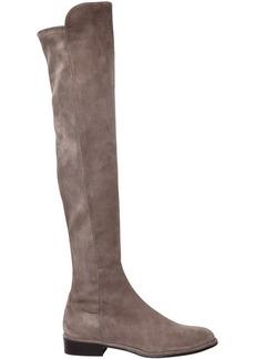 Stuart Weitzman 20mm Allgood Stretch Suede Boots