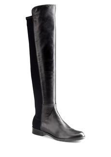 Stuart Weitzman 5050 Over-The-Knee Stretch-Leather Boots