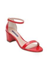 Stuart Weitzman 55mm Simple Patent Leather Sandals