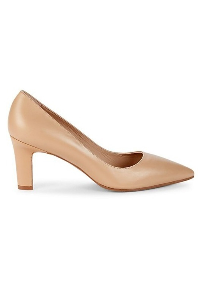 Stuart Weitzman Adria Leather Pumps