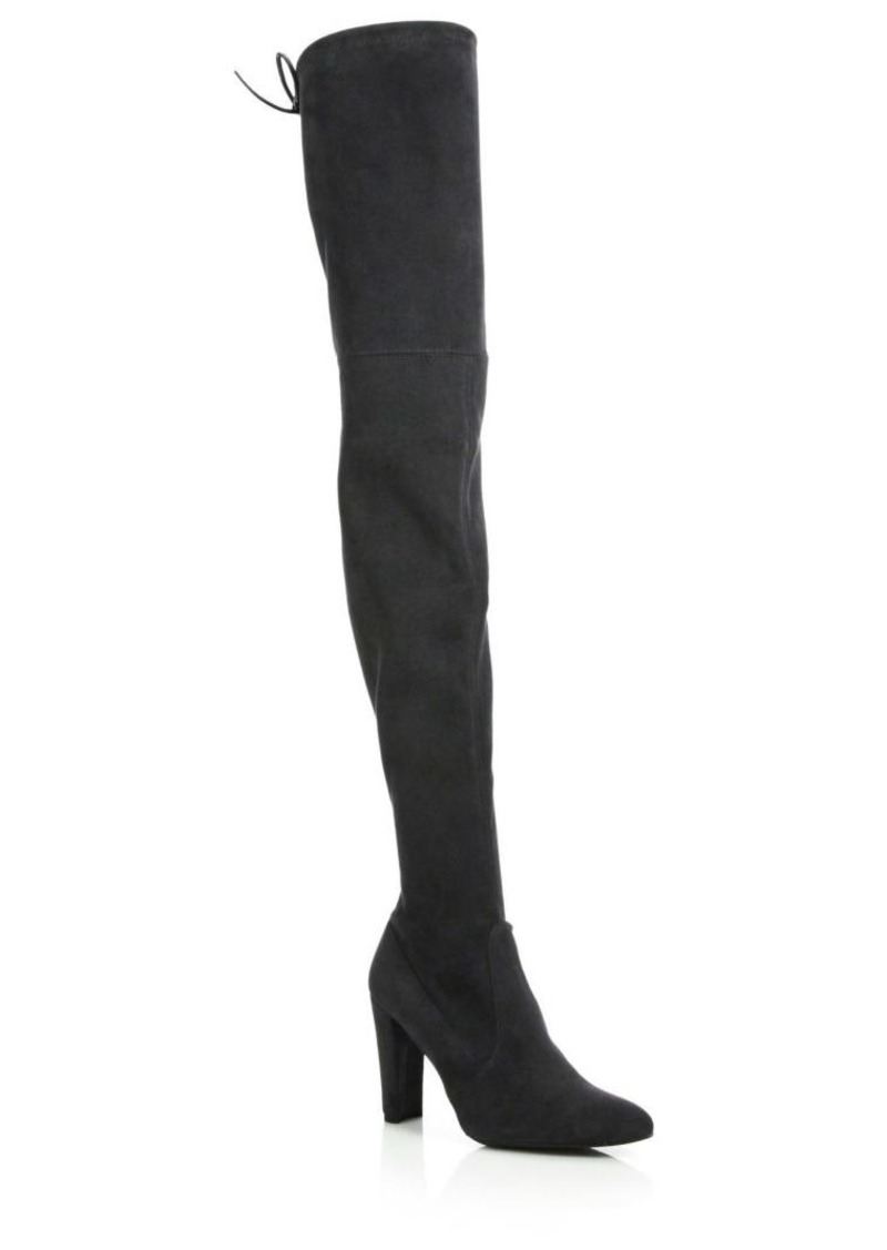 Stuart Weitzman Alllegs Ultrastretch Suede Thigh-High Boots