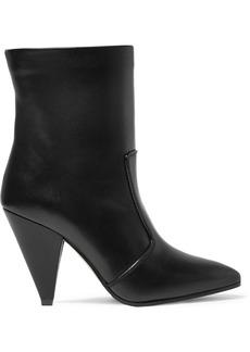 Stuart Weitzman Atomic West Leather Ankle Boots