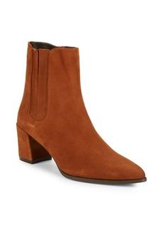 Stuart Weitzman BasisLeather Ankle Boots
