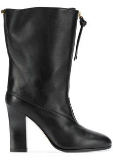 Stuart Weitzman block heel ankle boots
