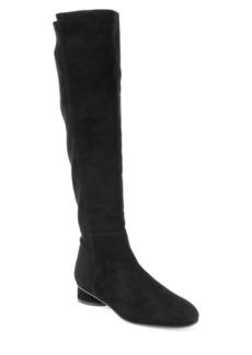 Stuart Weitzman Brooke Suede Knee-High Boots