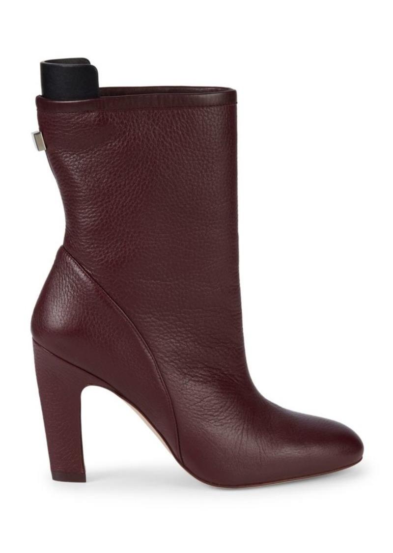 Stuart Weitzman Brooks Leather Booties