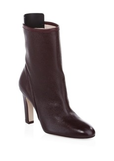 Stuart Weitzman Brooks Leather Booties