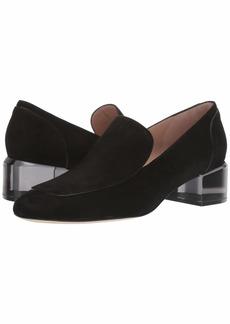 Stuart Weitzman Carmella Block Heel Loafer