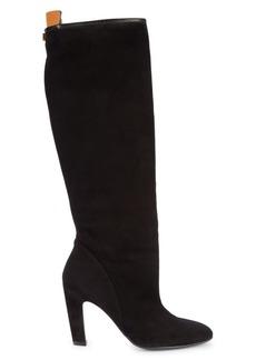 Stuart Weitzman Charlie Suede Knee-High Boots