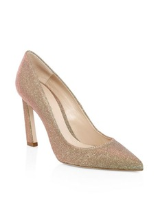 Stuart Weitzman Chicster Metallic Pumps