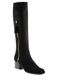 Stuart Weitzman Calder Suede Knee-High Boots