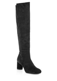 Stuart Weitzman Eloise Suede Knee-High Boots