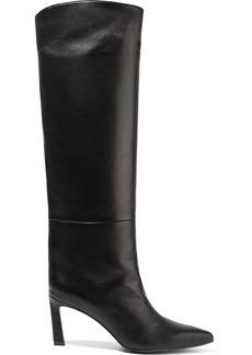 Stuart Weitzman Emiline Leather Knee Boots